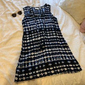 Cynthia Rolwes Linen Tassel Dress